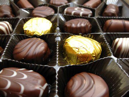 Belgium chocolate candies photo