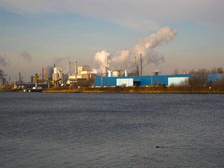 ijmuiden: Ijmuiden sea port and industry