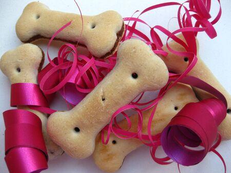 Dog cookies gift photo