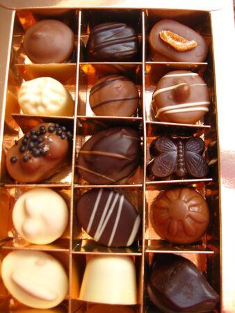 box of luxury chocolates Stock Photo - 3996270
