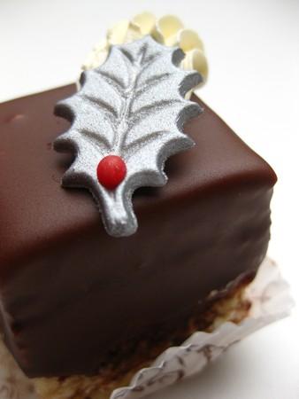 shoppe: Christmas chocolate cake Stock Photo