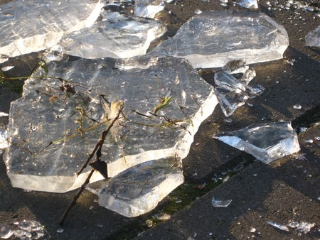 icey: Winter in Holland: pieces of ice