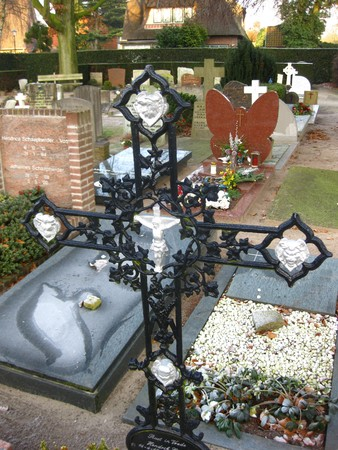 grave ornament  photo