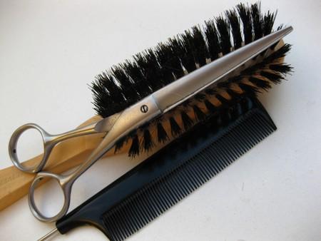 Hairdressers equipment Stock Photo - 4129539