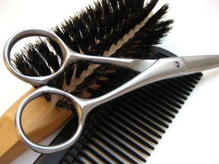 Hairdressers equipment Stock Photo - 4146369