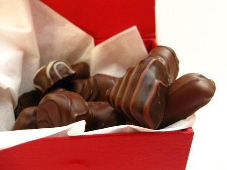 Valentines chocolate photo