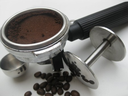 Espresso piston and tamper photo