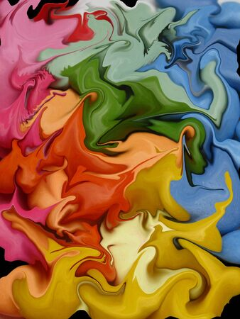 screensaver: Colorful candy, the abstract way