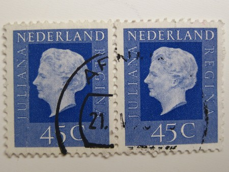 varied: Vintage stamps from the Netherlands