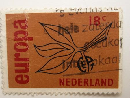 varied: Vintage stamp from the Netherlands