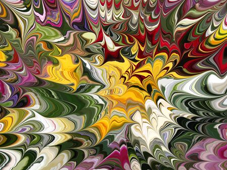 screensaver: abstract marble pattern  Stock Photo