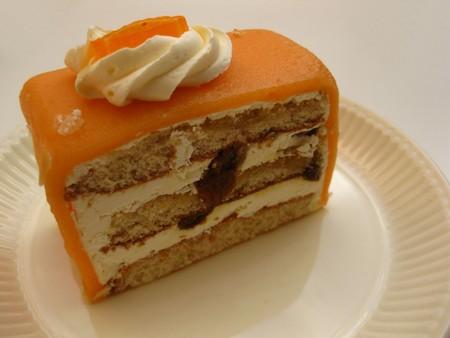 orange marzipan liquor cake Stock Photo - 4357593