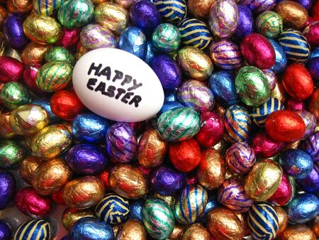 eastertime: happy easter eggs