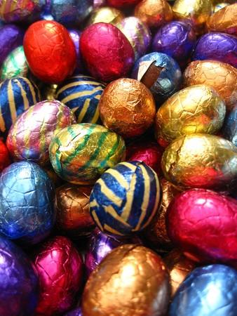 huevos estrellados: huevos de pascua