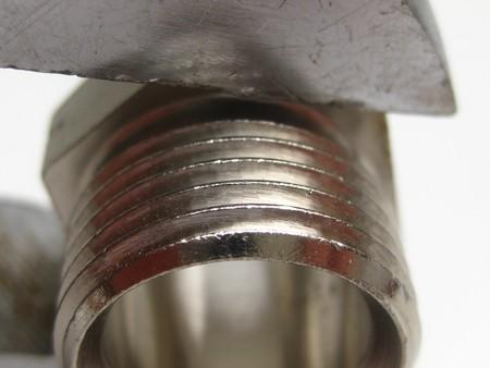 wrech: between a wrech Stock Photo