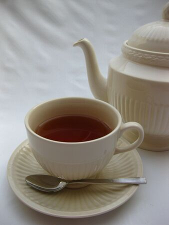 teapot and cup photo