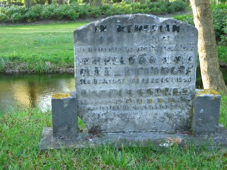 vintage gravestone (no visible name) photo