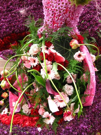 hyacints narcissus: Pink flower arrangement
