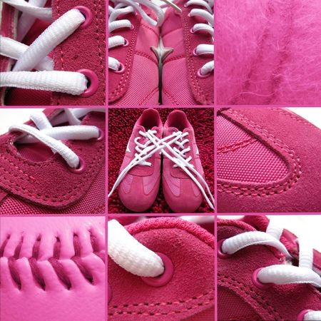 tennis shoe: Sneaker collage