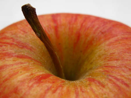 red apple close up Stock Photo - 4845392
