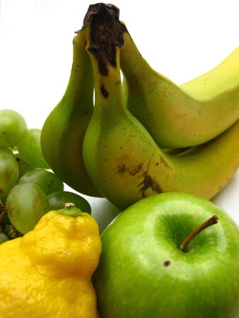 yellow and green fruits photo