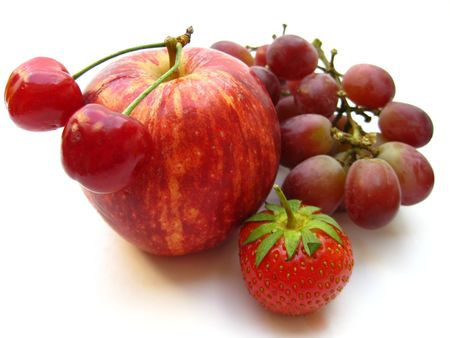 red fruits photo