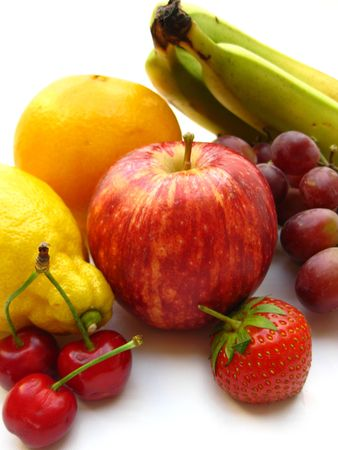 red and yellow fruit Stock Photo - 4952489