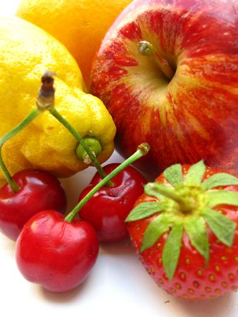 red and yellow fruit photo