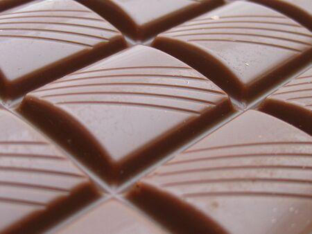 Milk chocolate bar photo