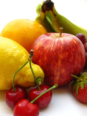 yellow and red fruit photo