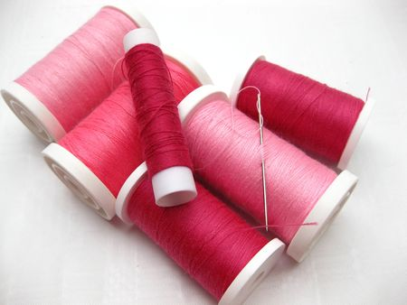 thread spools photo