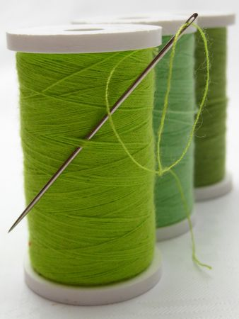 thread spools Stock Photo - 4980778