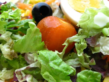 mixed salat Stock Photo - 5078984