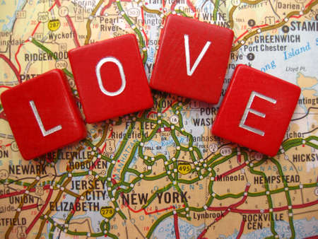 position d amour: I love New York!
