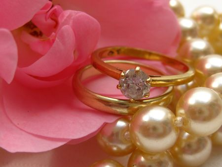 briar rose and wedding set photo