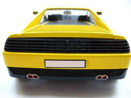 sportcar: yellow sportcar