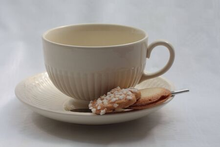 teacup and cookie photo