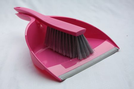 dust pan and brush photo