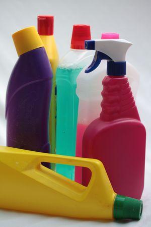 detergent bottles photo