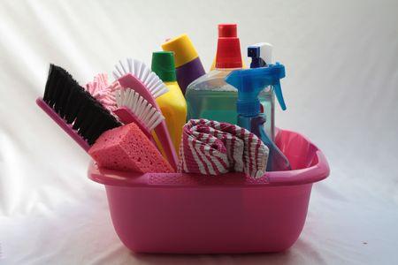 Utensilios de limpieza Foto de archivo - 5291050