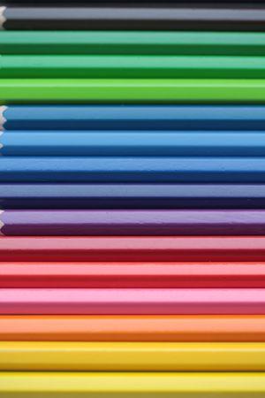 Színes ceruzák Stock fotó