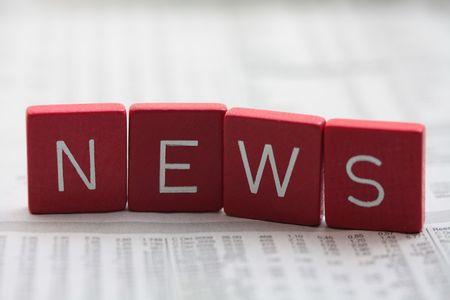 news update: News! Stock Photo