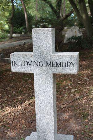 in loving memory: Grave ornament - In loving memory