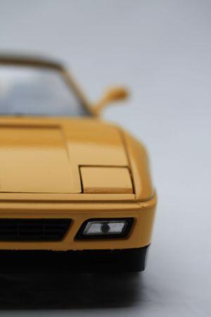 sportscar: yellow sportscar Stock Photo