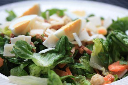 Ceasar salad 스톡 콘텐츠