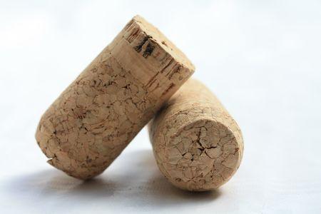 bordeau: corks - isolated over white