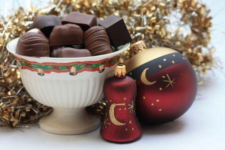 Christmas chocolates photo