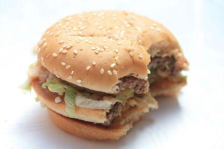 Big hamburger photo