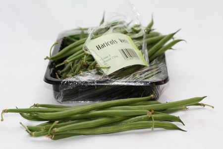 haricots verts - common green beans, one of the easiest vegetables to prepare and very suitable for fushion cooking Stock Photo - 5550600