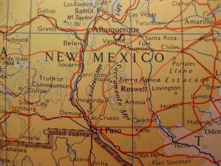 enchantment: New Mexico, land of Enchantment Stock Photo